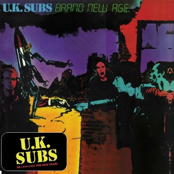 Uk Subs Brand New Age 180g Limited Deluxe Edition