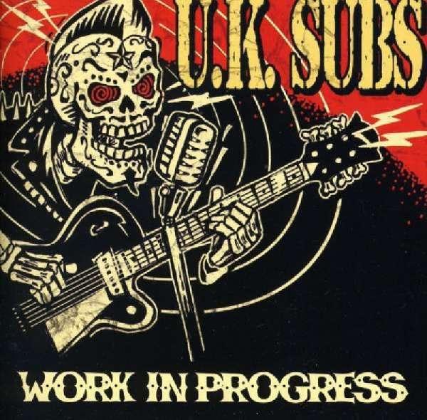 Uk Subs Work In Progress Cd Jpc