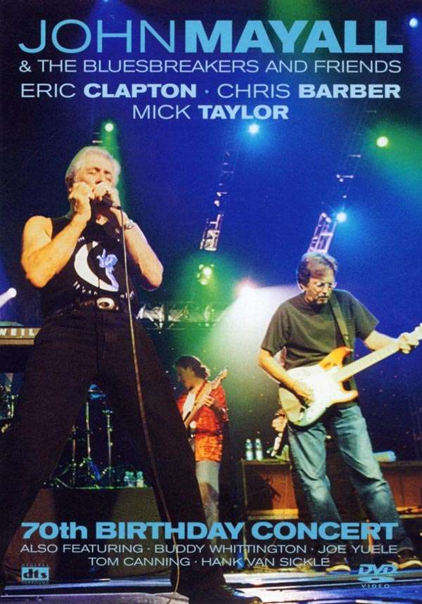 John Mayall 70th Birthday Concert DVD Jpc