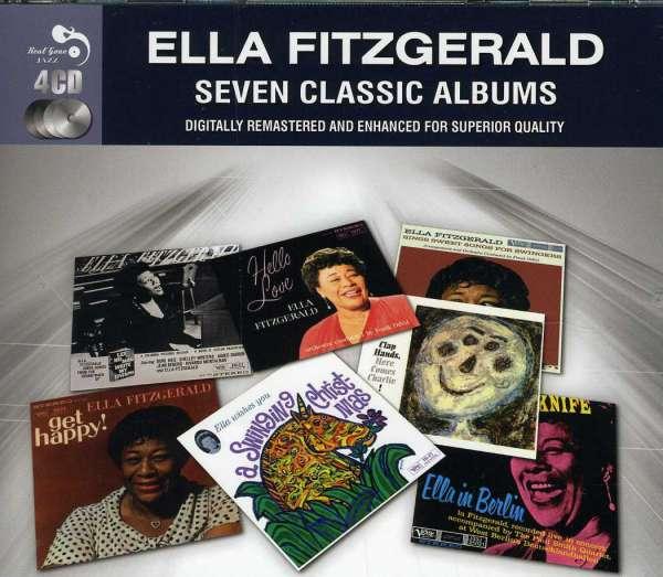 Ella Fitzgerald Eight Classic Albums 4 Cds Jpc