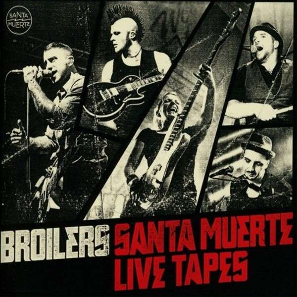 Broilers Santa Muerte Live Tapes 2 Cds Jpc