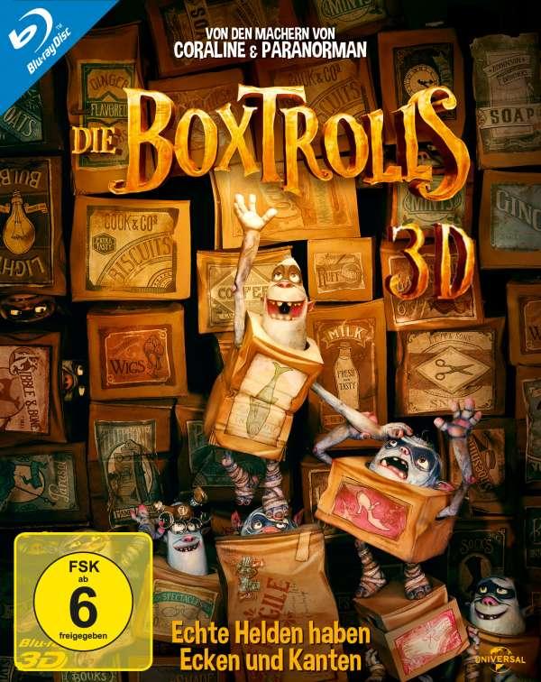 Die Boxtrolls (3D Blu-ray), Blu-ray Disc
