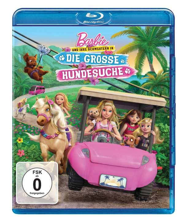 barbie in die hundesuche
