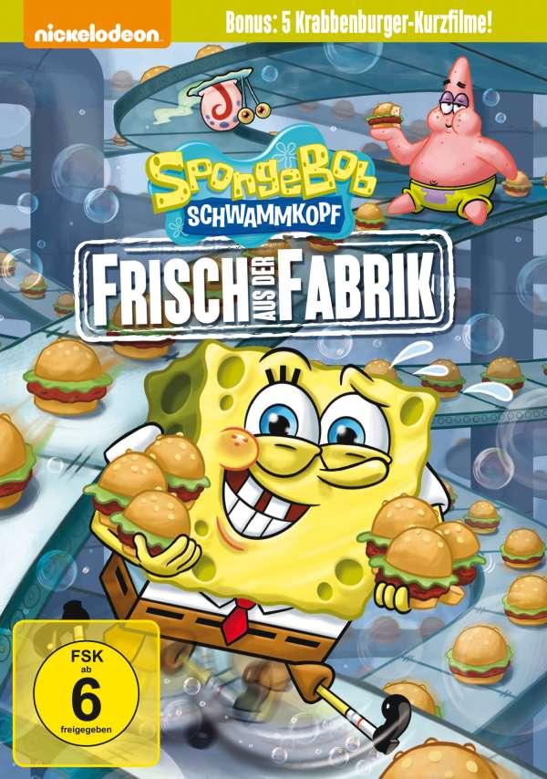 SpongeBob Schwammkopf: Frisch aus der Fabrik (DVD) – jpc