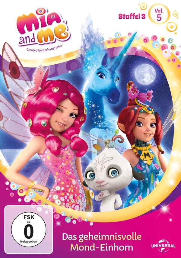 Mia And Me Staffel 3 Vol 5 Das Geheimnisvolle Mond Einhorn Dvd Jpc