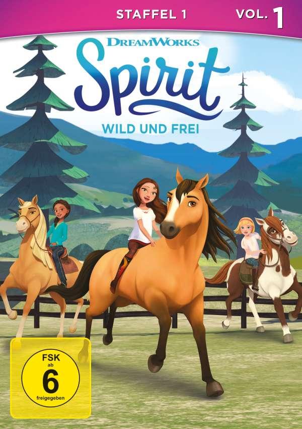Spirit Wild Und Frei Staffel 1 Vol 1 Dvd Jpc