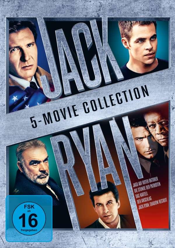 Jack Ryan 5 Film Collection
