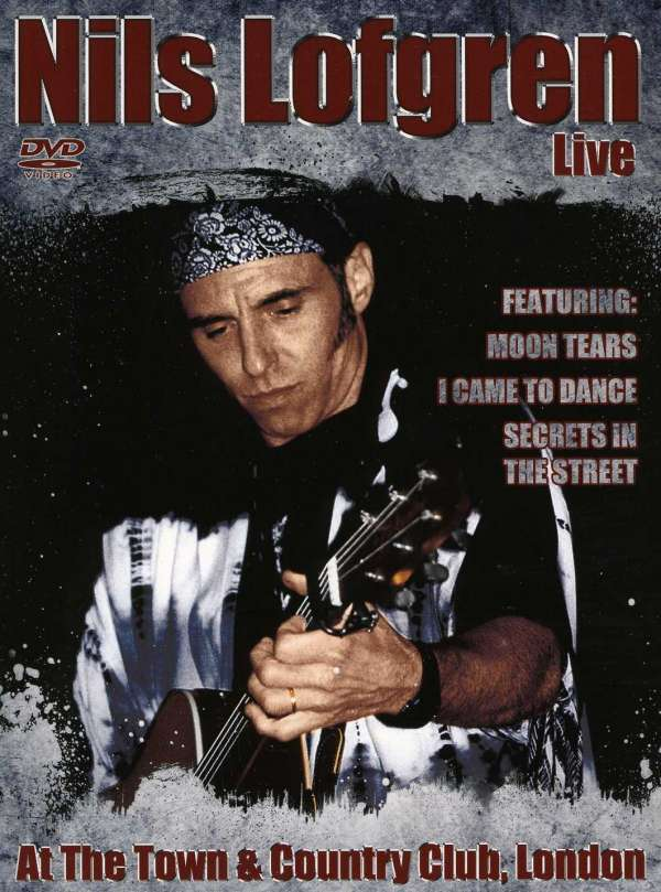 nils lofgren live at the town country club london dvd jpc. Black Bedroom Furniture Sets. Home Design Ideas