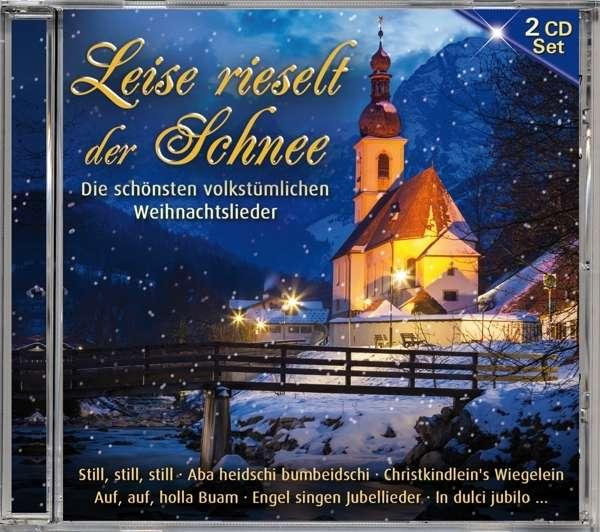 Weihnachtslieder Cd.Leise Rieselt Der Schnee Die Schönsten Volkstümlichen Weihnachtslieder