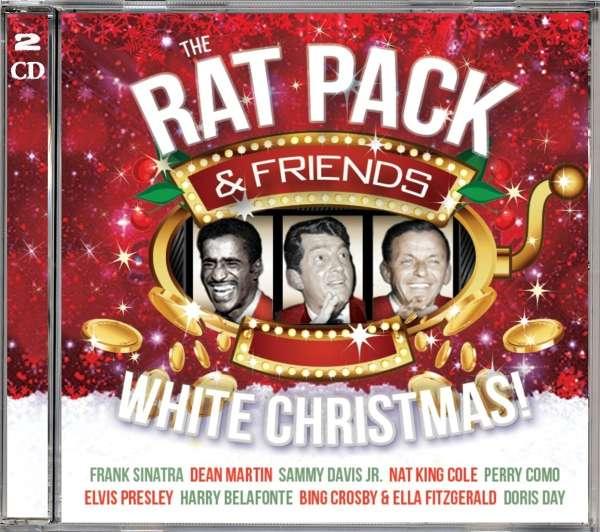 Dean Martin White Christmas.Rat Pack Sinatra Martin Davis Jr White Christmas