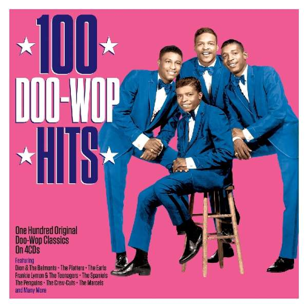 100 doo wop hits 4 cds jpc. Black Bedroom Furniture Sets. Home Design Ideas