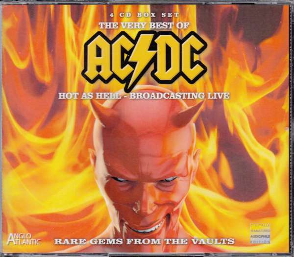 ac dc the very best of ac dc hot as hell broadcasting live bon scott era 1977 1979 4. Black Bedroom Furniture Sets. Home Design Ideas
