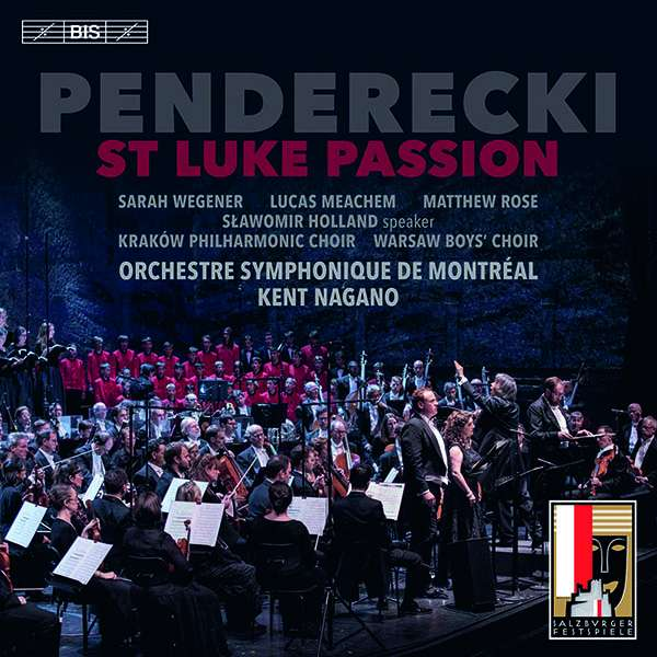 """Krzysztof Penderecki: Lukas-Passion (""""Passio et Mors Domini nostri ..."""