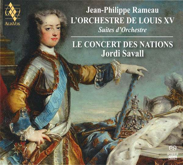 Jean Philippe Rameau (1683-1764): Suiten für Orchester, 2 Super Audio CDs