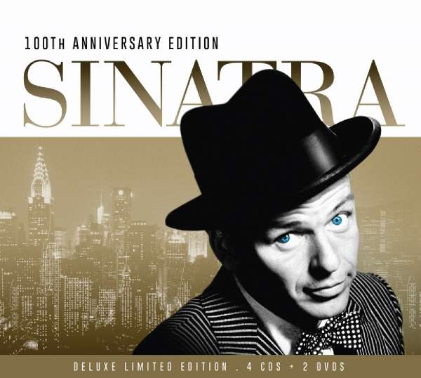 Frank Sinatra 100th Anniversary Edition Limited Deluxe 4 CDs Jpc