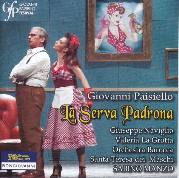 Giovanni Paisiello: La Serva Padrona (CD) – jpc