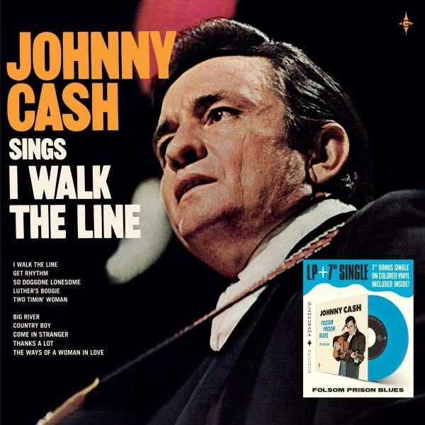 Johnny Cash: I Walk The Line (10g) (Blue Vinyl)