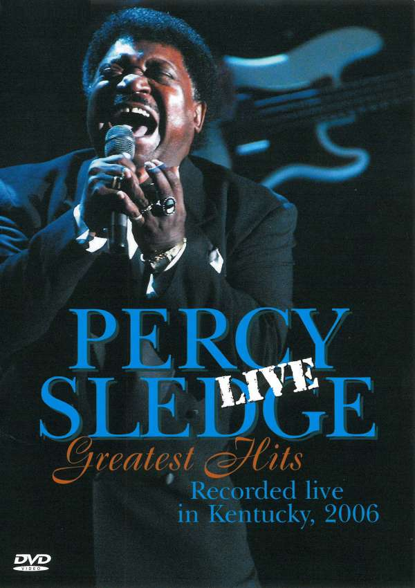 Percy Sledge Greatest Hits Live 2006 Dvd Jpc