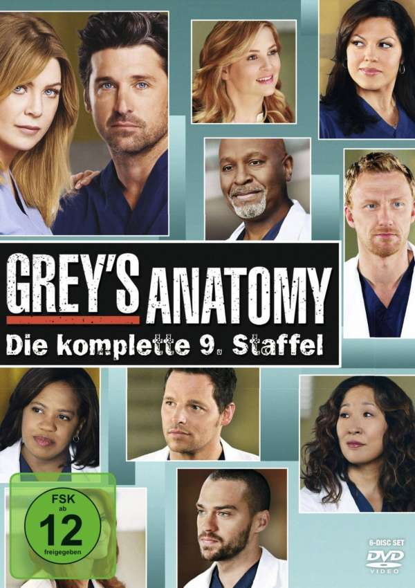 Greys Anatomy Season 9 6 Dvds Jpc