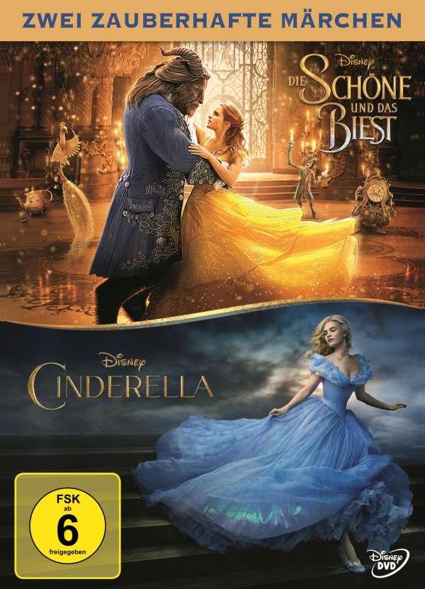 Die Schöne Und Das Biest 2017 Cinderella 2015 2 Dvds Jpc