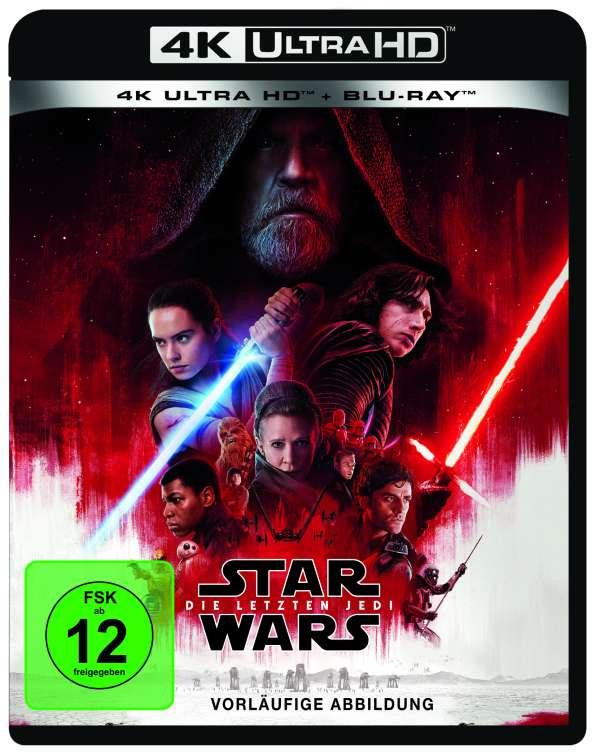 Star Wars 8 Die Letzten Jedi Ultra Hd Blu Ray Blu Ray