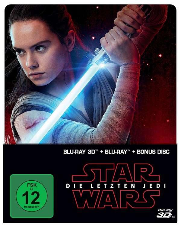 Star Wars 8 Die Letzten Jedi 3d 2d Blu Ray Im Steelbook