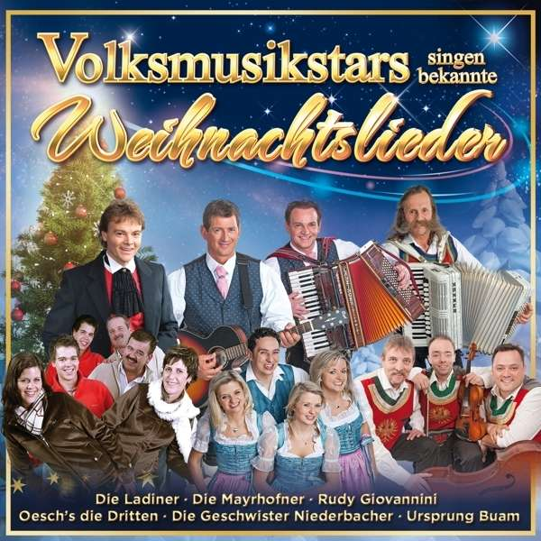 Bekannte Weihnachtslieder.Volksmusikstars Singen Bekannte Weihnachtslieder