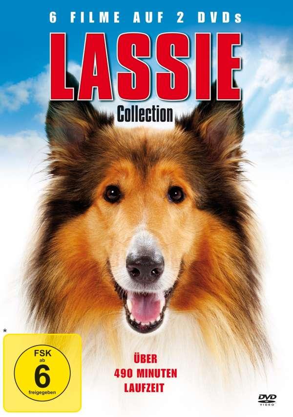 die lassie collection 6 filme auf 2 dvds dvd jpc. Black Bedroom Furniture Sets. Home Design Ideas
