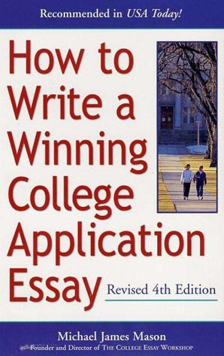 write a college essay