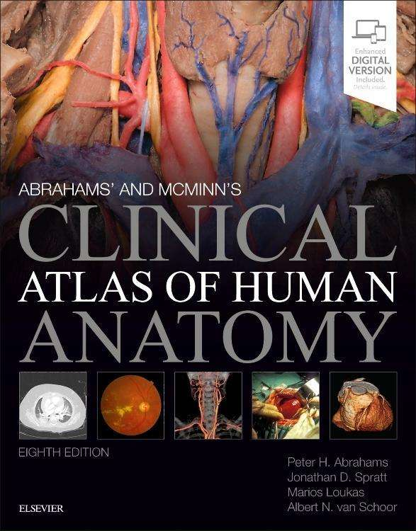 Abrahams And Mcminns Clinical Atlas Of Human Anatomy Peter H