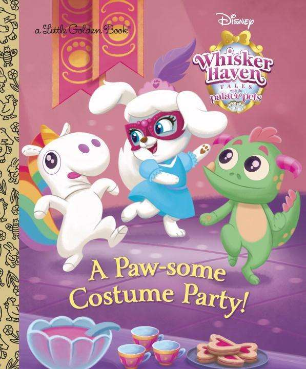 Random House Disney A Paw Some Costume Party Palace Pets Whisker Haven Tales