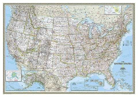 National Geographic Maps - Reference: National Geographic: United ...