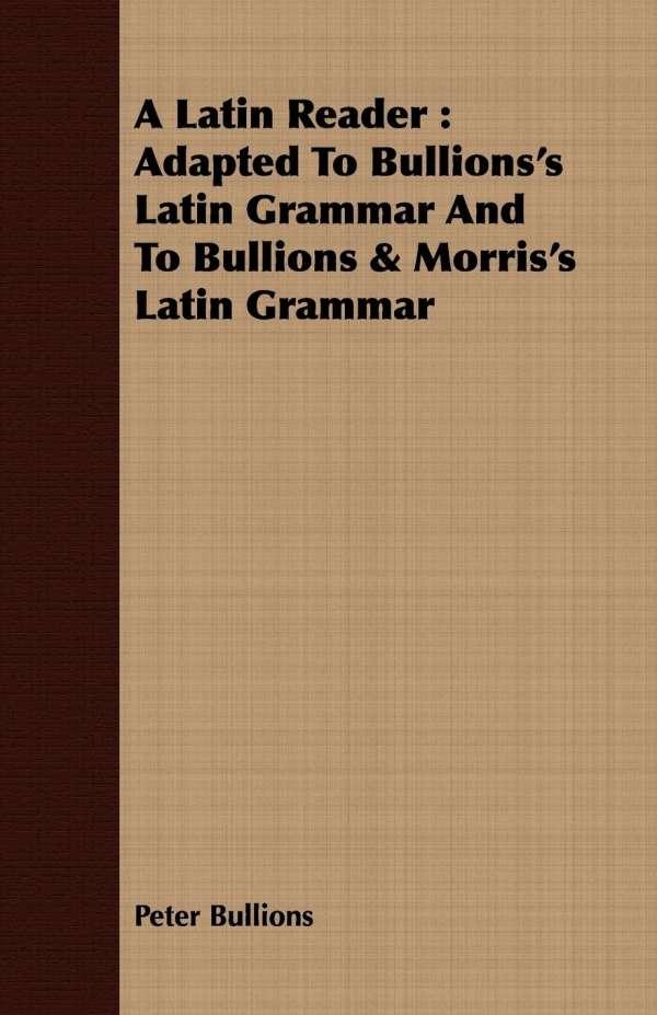 A Latin Reader 110