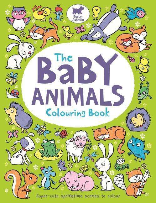 The Baby Animals Colouring Book - Ela Jarzabek (Buch) – jpc