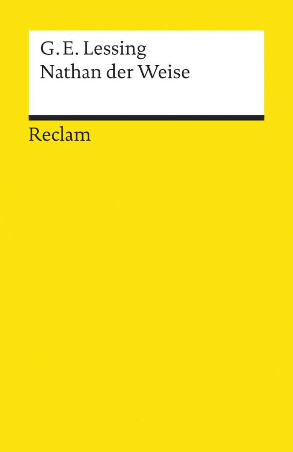 Gotthold Ephraim Lessing Nathan Der Weise