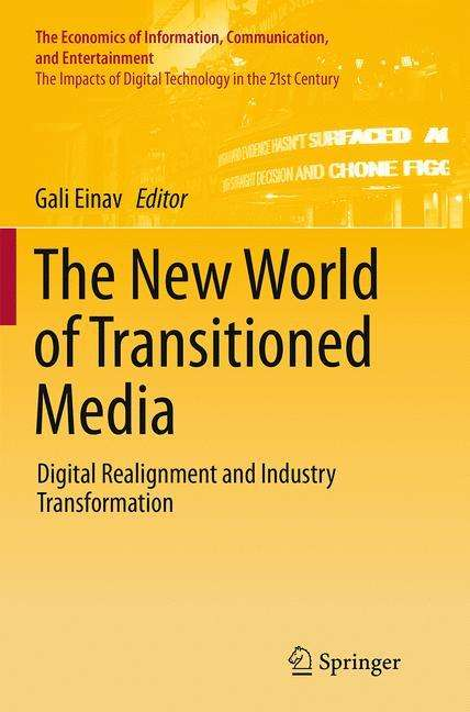 The New World Of Transitioned Media Buch Jpc border=