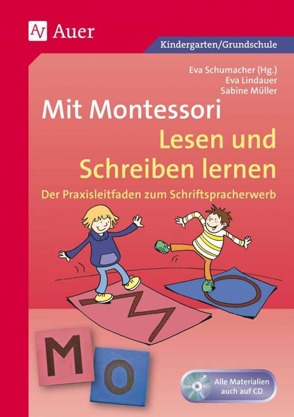 Mit Montessori Lesen und Schreiben lernen - Eva Lindauer (Buch) – jpc