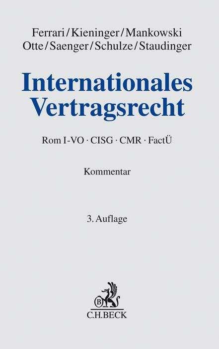 Internationales Vertragsrecht Franco Ferrari Buch Jpc