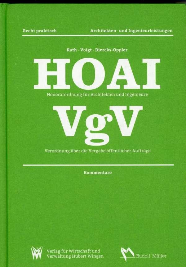 Architekt Hoai hoai honorarordnung für architekten und ingenieure vgv verordnung