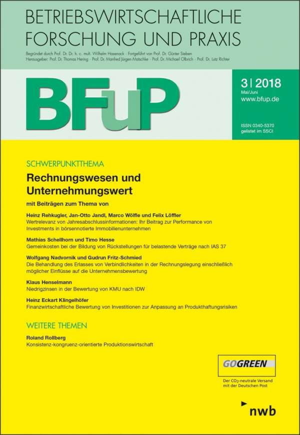 Rechnungswesen Und Unternehmungswert Buch Jpc