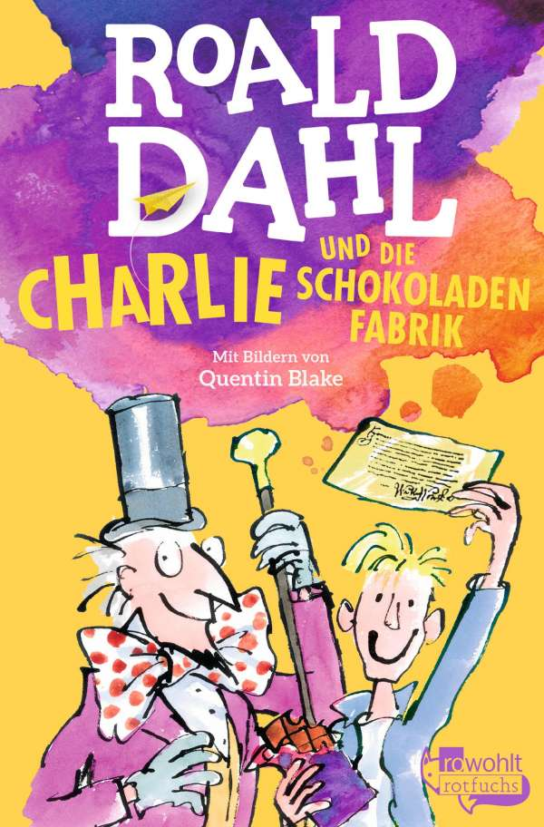 charlie und die schokoladenfabrik buch