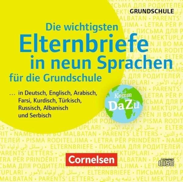 Julia Winter Die Wichtigsten Elternbriefe In Neun Sprachen Für Die