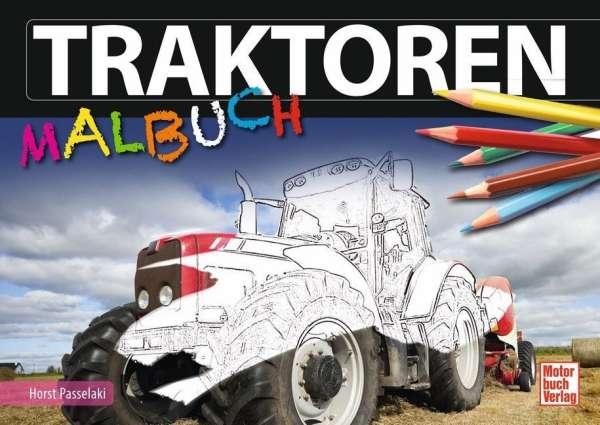 Traktoren-Malbuch - Joachim Kuch (Buch) – jpc