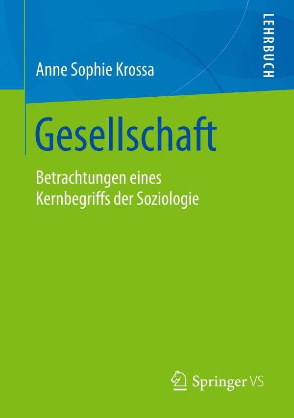 Gesellschaft Anne Sophie Krossa Buch Jpc
