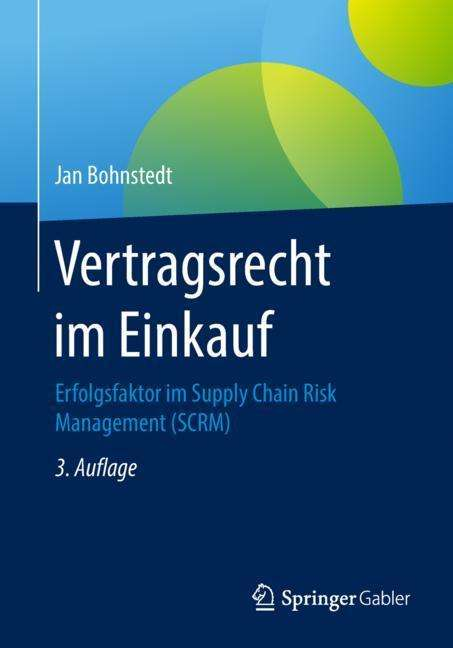 Vertragsrecht Im Einkauf Jan Bohnstedt Buch Jpc