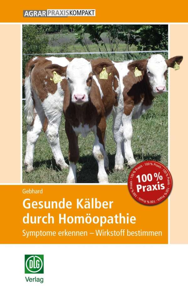 Berühmt Gesunde Kälber durch Homöopathie - Bettina Gebhard (Buch) – jpc #WM_13