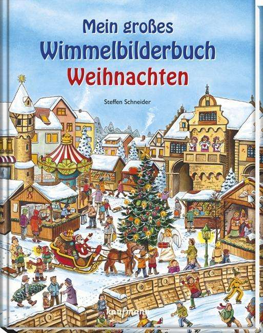 Wimmelbuch Weihnachten.Mein Großes Wimmelbuch Weihnachten