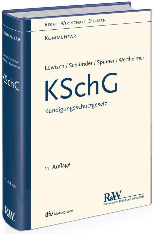 Kschg Kündigungsschutzgesetz Manfred Löwisch Buch Jpc