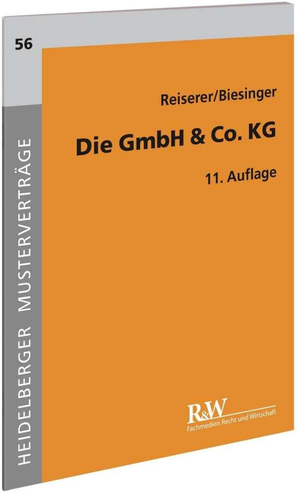 Die Gmbh Co Kg Kerstin Reiserer Buch Jpc