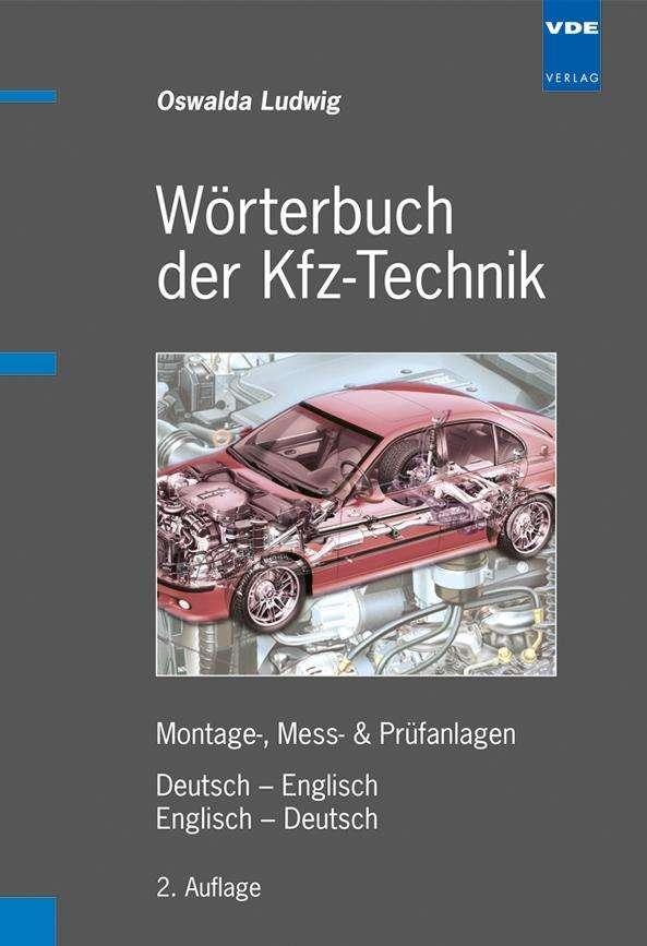 W rterbuch der kfz technik deutsch englisch englisch for Englisch deutsch ubersetzung